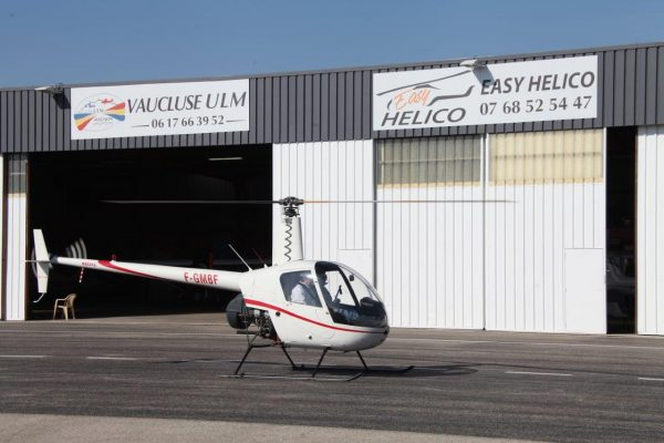R22 mise en route Easy Helico