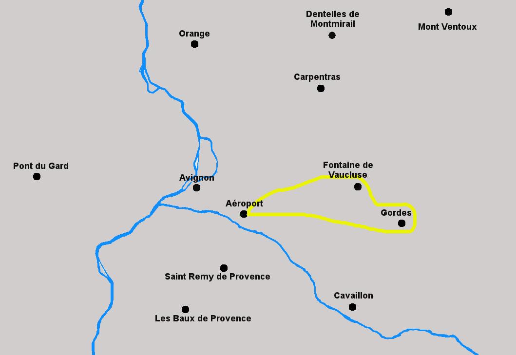 Circuit en Hélicoptère dans le Luberon