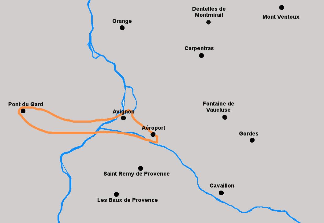 Circuit en Hélicoptère du Pont du Gard