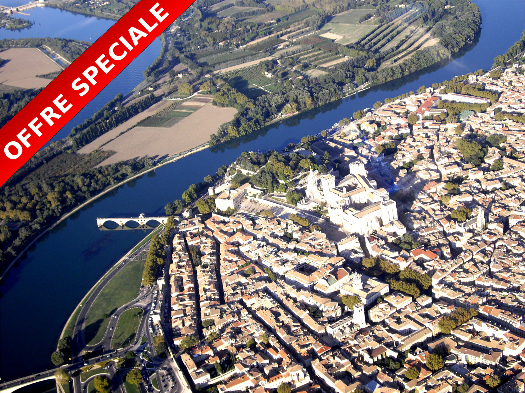 photo vol panoramique offre special Avignon