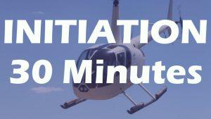 vol d'initiation en R44 de 30 minutes