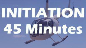 Vol d'initiation en R44 de 45 minutes