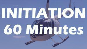 Vol d'initiation en R44 de 60 minutes